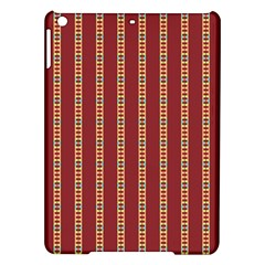 Pattern Background Red Stripes Ipad Air Hardshell Cases