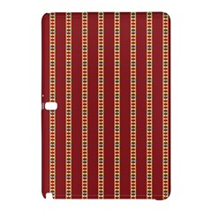 Pattern Background Red Stripes Samsung Galaxy Tab Pro 10 1 Hardshell Case