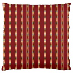 Pattern Background Red Stripes Standard Flano Cushion Case (one Side)