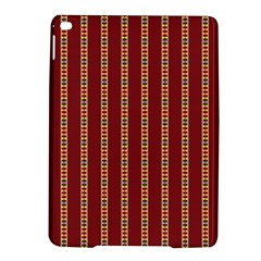 Pattern Background Red Stripes Ipad Air 2 Hardshell Cases