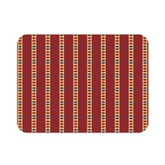 Pattern Background Red Stripes Double Sided Flano Blanket (mini)