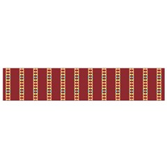 Pattern Background Red Stripes Flano Scarf (small)