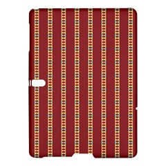 Pattern Background Red Stripes Samsung Galaxy Tab S (10 5 ) Hardshell Case