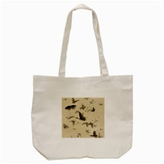Vintage Old Fashioned Antique Tote Bag (cream)