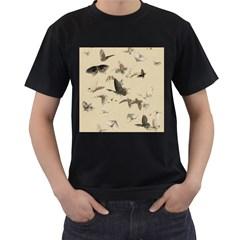 Vintage Old Fashioned Antique Men s T Shirt (black)