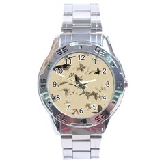 Vintage Old Fashioned Antique Stainless Steel Analogue Watch