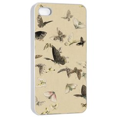 Vintage Old Fashioned Antique Apple Iphone 4/4s Seamless Case (white)