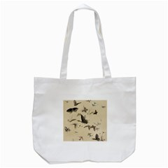 Vintage Old Fashioned Antique Tote Bag (white)