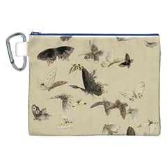 Vintage Old Fashioned Antique Canvas Cosmetic Bag (xxl)