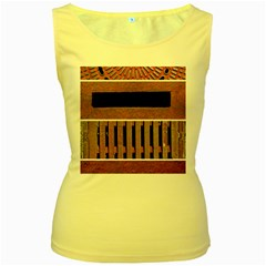 Stainless Structure Collection Women s Yellow Tank Top