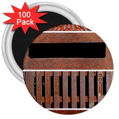 Stainless Structure Collection 3  Magnets (100 Pack)