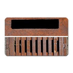 Stainless Structure Collection Magnet (rectangular)