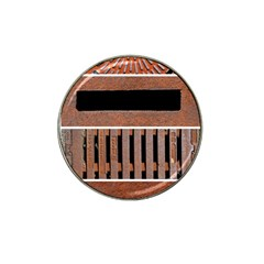 Stainless Structure Collection Hat Clip Ball Marker (4 pack)