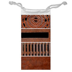 Stainless Structure Collection Jewelry Bag