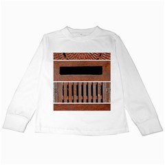 Stainless Structure Collection Kids Long Sleeve T Shirts