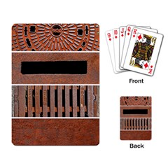 Stainless Structure Collection Playing Card