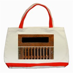Stainless Structure Collection Classic Tote Bag (red)