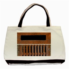 Stainless Structure Collection Basic Tote Bag (two Sides)