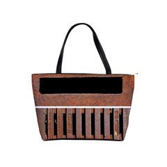 Stainless Structure Collection Shoulder Handbags