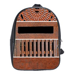 Stainless Structure Collection School Bags(Large)