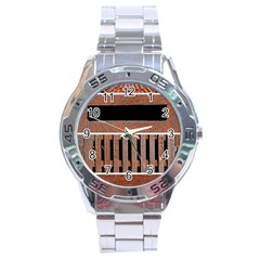 Stainless Structure Collection Stainless Steel Analogue Watch