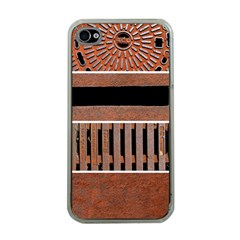 Stainless Structure Collection Apple Iphone 4 Case (clear)