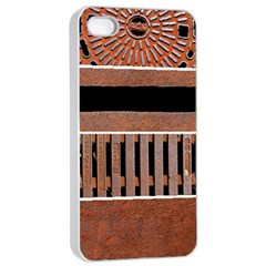 Stainless Structure Collection Apple Iphone 4/4s Seamless Case (white)