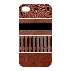 Stainless Structure Collection Apple Iphone 4/4s Hardshell Case
