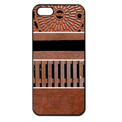 Stainless Structure Collection Apple Iphone 5 Seamless Case (black)