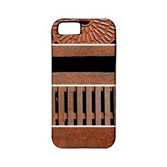 Stainless Structure Collection Apple Iphone 5 Classic Hardshell Case (pc+silicone)