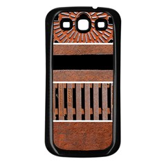 Stainless Structure Collection Samsung Galaxy S3 Back Case (black)