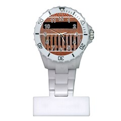 Stainless Structure Collection Plastic Nurses Watch