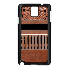 Stainless Structure Collection Samsung Galaxy Note 3 N9005 Case (black)