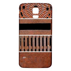 Stainless Structure Collection Samsung Galaxy S5 Back Case (white)