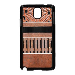 Stainless Structure Collection Samsung Galaxy Note 3 Neo Hardshell Case (black)