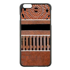 Stainless Structure Collection Apple Iphone 6 Plus/6s Plus Black Enamel Case