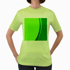 Simple Green Women s Green T Shirt