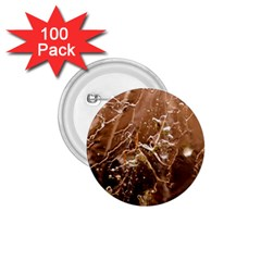 Ice Iced Structure Frozen Frost 1 75  Buttons (100 Pack)