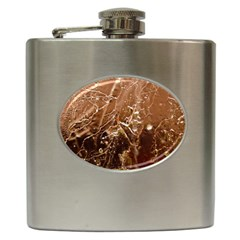 Ice Iced Structure Frozen Frost Hip Flask (6 Oz)