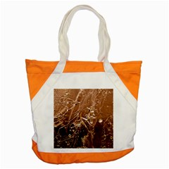 Ice Iced Structure Frozen Frost Accent Tote Bag