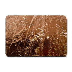 Ice Iced Structure Frozen Frost Small Doormat