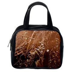 Ice Iced Structure Frozen Frost Classic Handbags (one Side)
