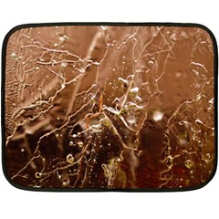 Ice Iced Structure Frozen Frost Double Sided Fleece Blanket (Mini)