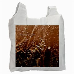 Ice Iced Structure Frozen Frost Recycle Bag (one Side)