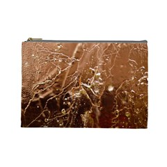 Ice Iced Structure Frozen Frost Cosmetic Bag (Large)