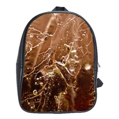 Ice Iced Structure Frozen Frost School Bags(large)
