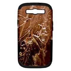 Ice Iced Structure Frozen Frost Samsung Galaxy S Iii Hardshell Case (pc+silicone)