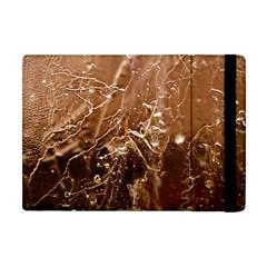 Ice Iced Structure Frozen Frost Apple Ipad Mini Flip Case