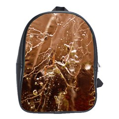Ice Iced Structure Frozen Frost School Bags (xl)