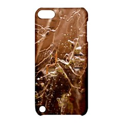 Ice Iced Structure Frozen Frost Apple Ipod Touch 5 Hardshell Case With Stand